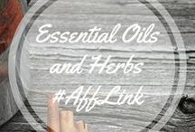 Essential Oils and Herbs #AffLInk / Love Young Living Essential oils and herbs