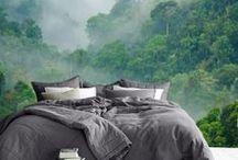 Wohnen: Schlafzimmer Ideen / Living: bedroom ideas / Langschläfer oder Frühaufsteher: Dein Schlafzimmer sollte möglichst kuschelig sein. Deshalb pinnen wir für Dich hier Einrichtungsideen, tolle Textilien und Deko.