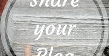 Share your blog! / Show the world what you are blogging about!  Email me if you want to follow this board: aroundthefirepit[@]outlook[dot]com Happy pinning, just keep it clean!