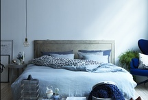 HOUSE bedroom / http://www.madogbolig.dk/Indretning/Fantastiske-boliger/Naja-Munthes-moderne-miks.aspx?img=6&tmb=0#galleryviewtop / by Konfetti | by Lena