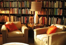 Books... places and spaces / A house is not a home without books, and lots of them! / by Gabrielle Smith