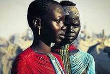 tribes / - You all laugh because I am different. I laugh because you are all the same -