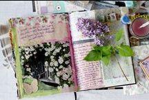Art Journal Ideas / by Cristina Vazquez-Villegas