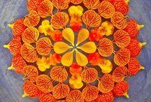 Mandala / Le terme Mandala est un mot sanscrit (Inde, Tibet) qui signifie « pensée contenue dans un cercle ». Il exprime le mouvement continu de la vie. Le principal avantage du Mandala est qu'il permet de se recentrer, de revenir au moment présent, de réduire le stress. Plus d'infos sur : http://www.nomadity.be/blog_creativite/le-mandala-pour-se-recentrer-et-developper-sa-creativite/