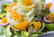 Vegan Salads and Dressings / More than just some lettuce and veggies, though lettuce and veggies is a great combo too!  (all recipes are VEGAN unless noted that veganization is required) / by Gabrielle Smith