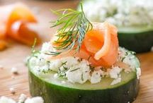 Appetizers and Salad / Collection of easy appetizers recipes for all holidays and parties!
