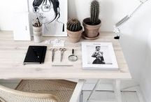 Hard Working / inspiration for working spaces
