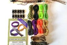 Parachute Cord Supplies and Accessories / Follow our board for the newest parachute colors, supplies and jigs. All of these items are offered on our website and Etsy store. https://www.etsy.com/shop/ParachuteCordSupply / by Kay's Crochet Patterns