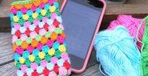 Crochet - Phone cases