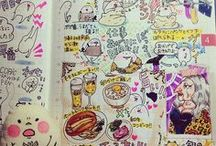 hobonichi / a style of journaling, day planning.
