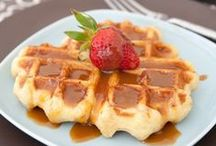 Waffles / Delicious waffle recipes to drool over! / by Cake Whiz