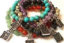 Layered Bracelets / Trending now - layering 3 or more bracelets to make your own statement