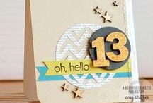 Card Artistry (handmade cards) / Handmade greeting cards for inspiration in my own card making. / by Jen Shults