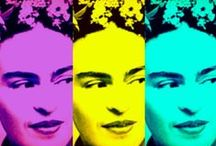 frida love / I paint my own reality. The only thing I know is that I paint because I need to, and I paint whatever passes through my head without any other consideration. Frida Kahlo