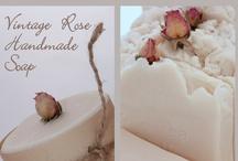 Vintage Rose From Riverlea Soap / Riverlea Soap Vintage Rose soap collection