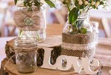 Wedding Ideas / wedding decor, ideas, inspiration and DIY projects