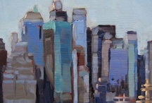 Art Subject: Painted Cityscape