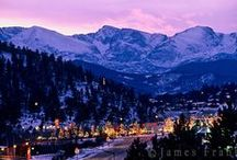 Winter in Estes Park