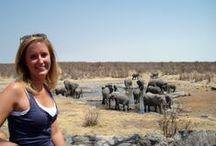 Namibië & Botswana / Wie aan een rondreis #Namibië denkt, denkt doorgaans aan zand. De korrels van de Namib- en Sossuswoestijn vind je weken later nog terug in je bagage. Maar laat je ook verrassen door close encounters met wild, zoals de olifanten die over de zoutvlaktes dwalen. Of door de Duitse invloeden.  Meer reisinspiratie voor je individuele rondreis vind je op www.namibieonline.nl. Reis je met ons mee?