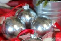 Christmas Ornaments / Creative ideas and project directions for Christmas ornaments