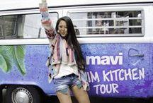 #DENIMKITCHEN BUS TOUR / Mavi's #denimkitchen on TOUR!
