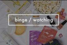 Survival Guide to Binge Watching Your Favorite Shows / Whether it's #OrangeIsTheNewBlack, #GameOfThrones, #ModernFamily or something else, these are the essentials you need to stay fabulous while not leaving your couch!