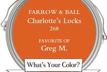 What's Your Color? Customer Picks! / We asked our customers to tell us their favorite #BenjaminMoore or #FarrowAndBall paint colors. These are some of the #ColorTrends in the McLean, VA area.