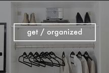 Get / Organized / Products and inspiration for an organized home.
