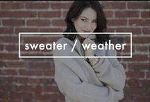 Sweater / Weather