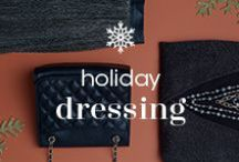Holiday / Party / A guide to holiday party outfits and fun, whether you're a host or a guest.
