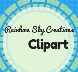 Rainbow Sky Creations Clipart / A collection of clipart for personal and commerical use created by Rainbow Sky Creations. Teaching resources.