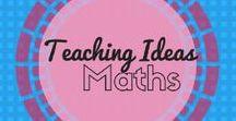 Math Teaching Ideas / Strategies, ideas, games.... all about teaching Math!