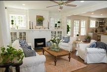 Fixer Upper / All things Fixer Upper! Joanna and Chip Gaines, farmhouse style, furniture, home decor, & interior design