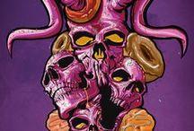 skullz / #skull#art#illustration