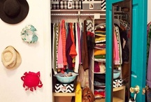HOME : Wardrobe / Oh if I could have a walk in wardrobe! / by A Thrifty Mrs