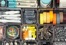 Organised / Why wouldn't you want everything you own to be neat and organised? / by A Thrifty Mrs