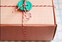 Gift wrap / Great gift wrap ideas