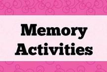 Memory activities / Ideas for working on memory