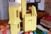 Paper Hat's children's parties / photos from recent children's birthday parties