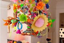 Pinata's and other papery decorations