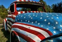 Red, White & Blue / by Janis Lynn