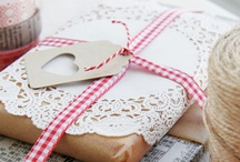 Christmas wrapping / The most amazing Christmas gift wrap ideas.