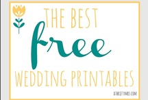 Free Printables / More free printables than you could ever dream of...maybe! Including free wedding printables, free printable calendars, free school printables and organising printables! / by A Thrifty Mrs