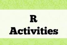 R Activities / All about the phoneme R and R blends