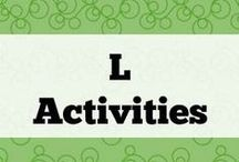 L Activities / All about phoneme L and L blends