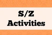 S/Z Activities / All about phonemes S/Z