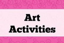 Art ideas / Art activities to elicit language