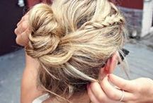 Updos + Buns + Top Knots / by Melissa Moreira