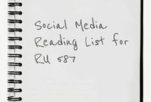 Social Media Reading List / Options for reading, review and remix. Please select a title that will have personal meaning. Feel free to make alternate suggestions.  Sign up for your selected title on the class Google Doc sign up.