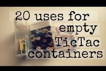 Thrifty, Recycled & Eco / Ideas for recycling and eco friendly living without spending a fortune!
